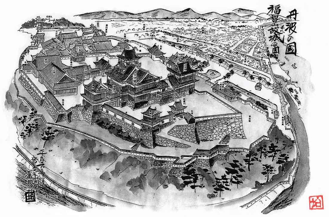 福知山城 古図